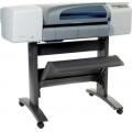 HP DesignJet 500 A1 large format CAD printer, (printa papper tyg vinyl plast mm) Beg